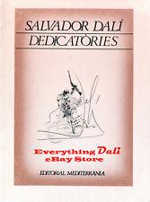 223 PAGES OF SALVADOR DALI DEDICATION DRAWINGS