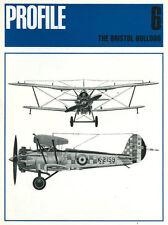 BRISTOL BULLDOG,  AIRCRAFT PROFILE PUBLICATIONS 6 NEW 1971 BOOK