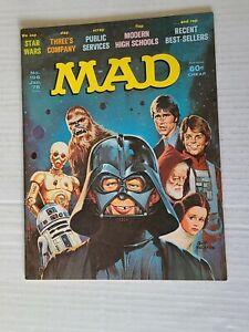 Mad Magazine # 196 January 1978 Star Wars Cover