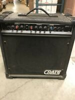 Vintage Crate G40XL Guitar Amplifier - Awesome Metal Crunchy Tone!