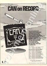 Can Future Days UAS 29505 Bradford University MM4 LP/Tour Advert 1974