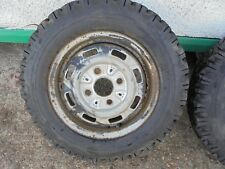 6.00-13 4ply Firestone Town & Country 6.00-13 4ply Tubeless Tyres and Wheels x 1