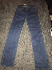 Levis DEMI CURVE STRAIGHT Women's Blue Jeans W26 L32 BNWT UK Size 8