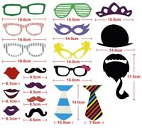 New 58 Party Props Photo Booth Moustache Birthday Engagement Wedding Funny