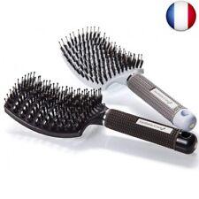 Brosse à Cheveux En Poils De Sanglier ? Brosse-Araignée Courbe Femme Pour s
