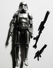 """Star Wars The Black Series Carbonized Stormtrooper 6"""" Action Figure Hasbro 2020"""