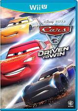 Cars 3: Driven To Win (Nintendo Wii U, 2017)