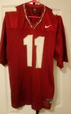 Nike Authentic Team Apparel Florida State Seminoles Retro #11 Jersey Sz L Large
