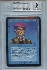 MTG Alpha Prodigal Sorcerer BGS 9.0 (9) Mint Card Magic Amricons 7571