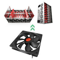 12cm 4 Pin High Speed Desktop Chassis Fan 12V Large Air Volume Computer Cooler