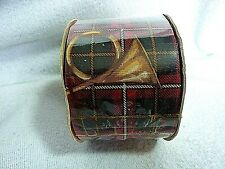 """Large Roll of Hunt Club Red Ribbon 2 1/2"""" X 20 yds."""
