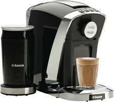 MAP BRAVISTA ESPRESSO + BY SAECO Capsule Coffee Machine Maker Bonus Milk Frother