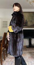 SALE Pelzmantel Blackglama Nerz Nerzjacke Mink fur coat Visone норковая шуба