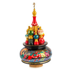 St Basil's Cathedral Music Box Firebird Russian Church plays Moscow Nights