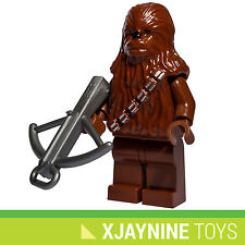 LEGO STAR CLONE WARS Chewbacca Wookie Minifig + Crossbow Blaster Gun NEW RARE