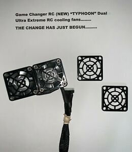 """GCRC NEW """"Typhoon"""" Dual Ultra Extreme RC Cooling Fans"""