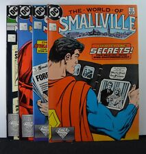 World of Smallville #s: 1,2,3,4  (DC, 1987)  Complete Mini-Series