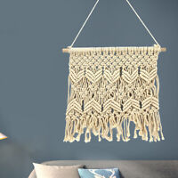Macrame Wall Hanging Tapestry Handmade Bohemian Art Home Room Wall Decor