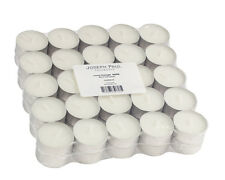500 White Tealight Candles - Made in USA - Over 4 Hr Burn Time - Free Shipping