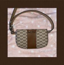 Michael Kors Leather fanny pack Waist Belt