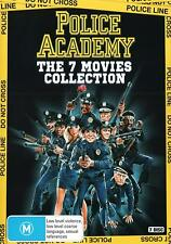 POLICE ACADEMY Box Set DVD Complete 1 2 3 4 5 6 7 Collection NEW R4