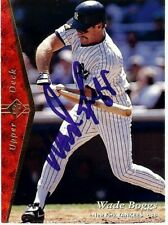 Wade Boggs Signed Autographed Baseball Card 1995 Upper Deck SP Yankees GX30702