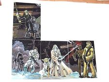 1993 Star Wars GALAXY SERIES 1 Etched Foil CHASE INSERT SINGLES! WALTER SIMONSON