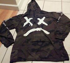 Authentic LiL Peep Windbreaker Jacket Show Camo Camouflage XXXTentacion Sold Out