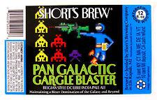 Short's Brew PAN GALACTIC GARGLE BLASTER beer label MI 12oz STICKER