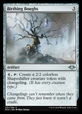4x Branches Type Sprouting - Birthing Boughs MTG Magic MH1 Eng