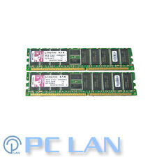 Kingston 1GB (4x 256MB) PC2100 DDR-266MHz ECC Registered CL2.5 184-Pin DIMM