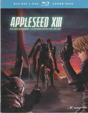 Appleseed XIII: The Complete Series (BD/DVD, 2013, 4-Disc Set)