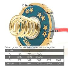 17mm 1A CC 4.2V 4 Mode - CREE XP-E XR-E Q4 Q5 LED Flashlight Driver