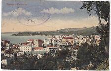 BOLLO DA 30 CENT. SU CARTOLINA DI VARAZZE PANORAMA 1924 3-55