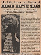 Madame Mattie Silks, The Leading Madame of Denver+Family-Bulette,Doherty,Dupuy