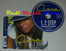 CD Singolo CIARA feat MISSY ELLIOTT 1 2 step 2004 eu LAFACE RECORDS (S1*) mc dvd