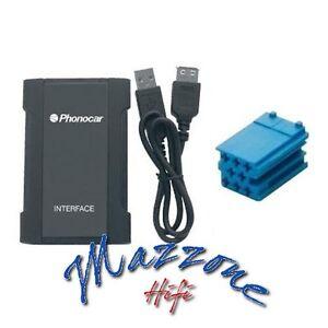 PHONOCAR 5/848 Interfaz IPHONE Ipod USB SD MP3 > Renault - VDO