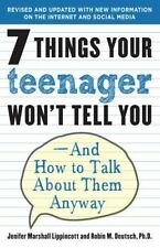 7 Things Your Teenager Won't Tell You: And How to Talk About Them Anyway - VeryG