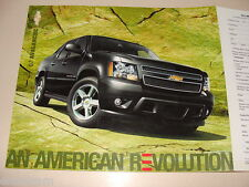 2007 Chevrolet Avalanche Dealers Ad Leaflet