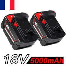 2x 5000mAH Li-ion 18V XC Batterie pour Milwaukee M18 M18B 48-11-1822 48-11-1828