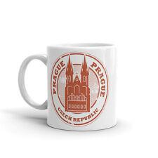 Prague République Tchèque haute qualité 10 oz (environ 283.49 g) Café Thé Tasse #5459