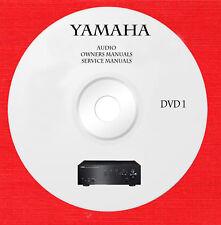 Yamaha Audio Repair Service owner manuals dvd 1 of 5 in pdf format