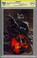 Venom #27 Ryan Brown Virgin - Signed - 1st Full Codex - CBCS 9.8