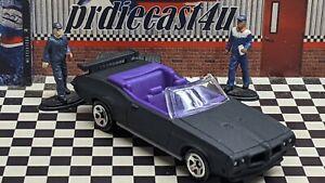 "HOT WHEELS 1970 PONTIAC GTO LOOSE 1:64 CUSTOM ""MATTE BLACK SATIN"" COLLECTION"