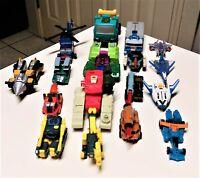 Transformers Lot of Mini Con Figures
