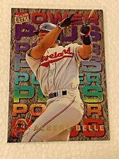 1995 Fleer Ultra Power Plus Albert Belle #1 Cleveland Indians Insert