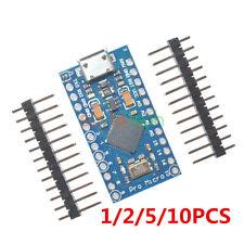 1-10PCS Pro Micro ATmega32U4 5V 16Mhz for Arduino Replace Pro Mini ATmega328