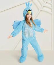 NEW Hummingbird Kid's Plush Costume Hyde And Eek Target Size 4T-5T Blue