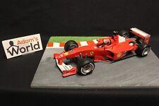 Hot Wheels Ferrari F-2000 2000 1:18 #3 Michael Schumacher (GER) (F1NB)