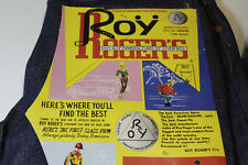 ROY ROGERS VINTAGE '70 JEANS - POCKET MONEY - W34-L34